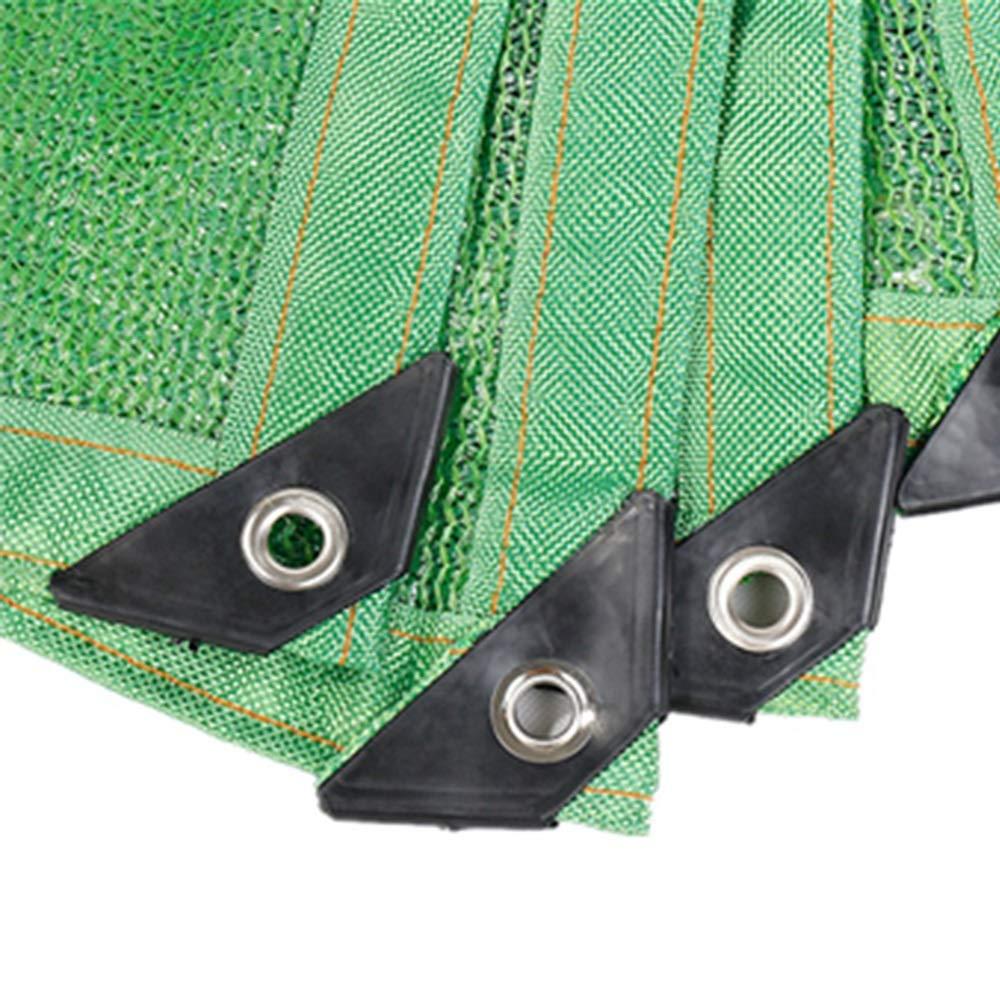 DEWUFAFA Rete Ombreggiante A 6 Pin Crittografia con Bordi di Ispessimento Rete di Isolamento Solare con Balcone Verde E Pannelli Oscuranti Tasso di Ombreggiamento dell85/% Verde