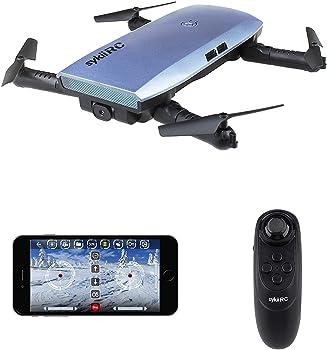Sykii RC Fold Portable WiFi FPV 720p Drone Quadcopter