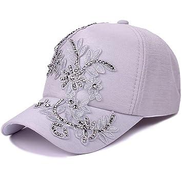 Wy-Bufanda Bordada Sombrero Capucha de Verano Salvaje Sombrero de Sol  Transpirable Sombrero de Sol Gorra de Béisbol 48c5a770744