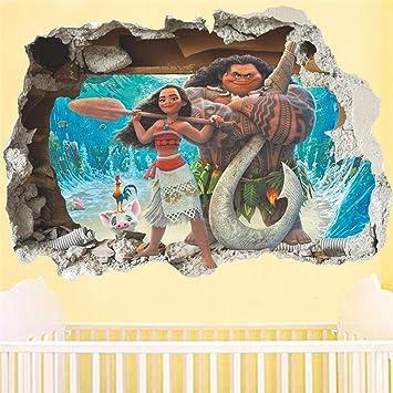 Dibujos Animados Moana Maui Vaiana Break Etiqueta De La ...