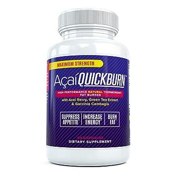 Amazon Com Acai Quick Burn High Performance Natural Fat Burner