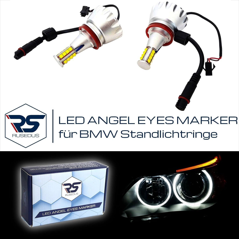 H8 LED Angel Eyes luce di posizione 128 Watt Rusedus