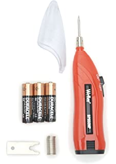 Weller BP650MP 4.5W BATTERY SOLDERING IRON KIT, Black