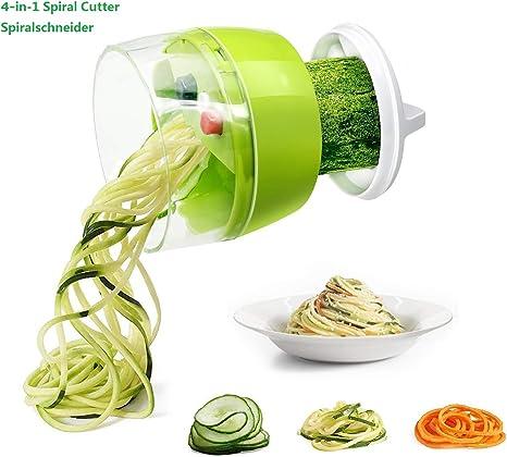 Vegetable Spiral Slicer Spiralizer Zucchini Spaghetti Noodle Cutter /& JUICER
