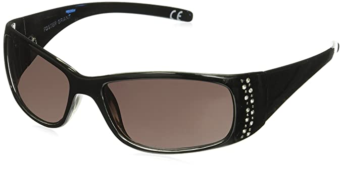 6b9eb725c8 Image Unavailable. Image not available for. Color  Foster Grant Women s  Amber Wrap Sunglasses ...