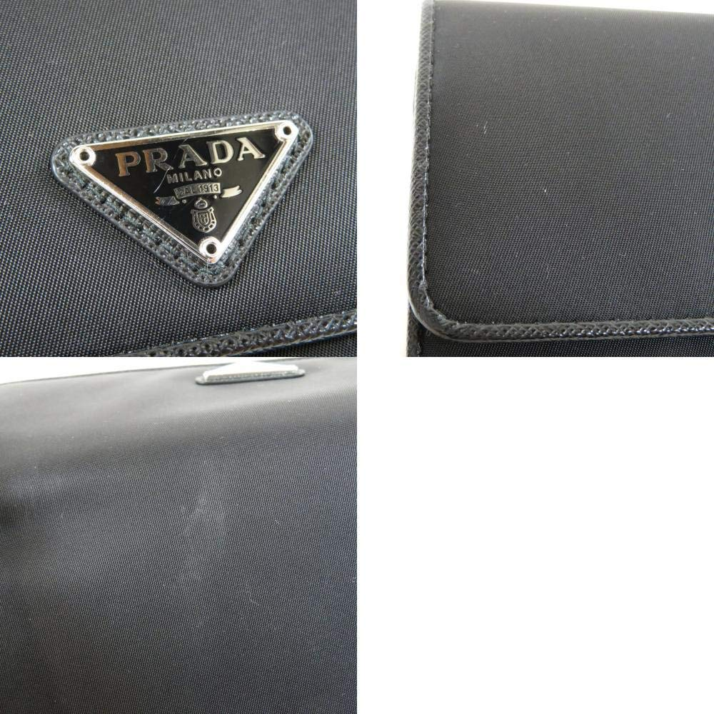94c626ae2bc3 Amazon | [プラダ]ロゴプレート 長財布(小銭入れあり) ナイロン素材 ユニセックス (中古) | PRADA(プラダ) | 財布