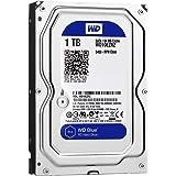 WD Blue 1TB Desktop Hard Disk Drive - 5400 RPM SATA 6 Gb/s 64MB Cache 3.5 Inch - WD10EZRZ