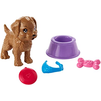 ​Barbie Puppy Accessory Pack, 5 Themed Accessories for Barbie Doll Including Puppy: Toys & Games