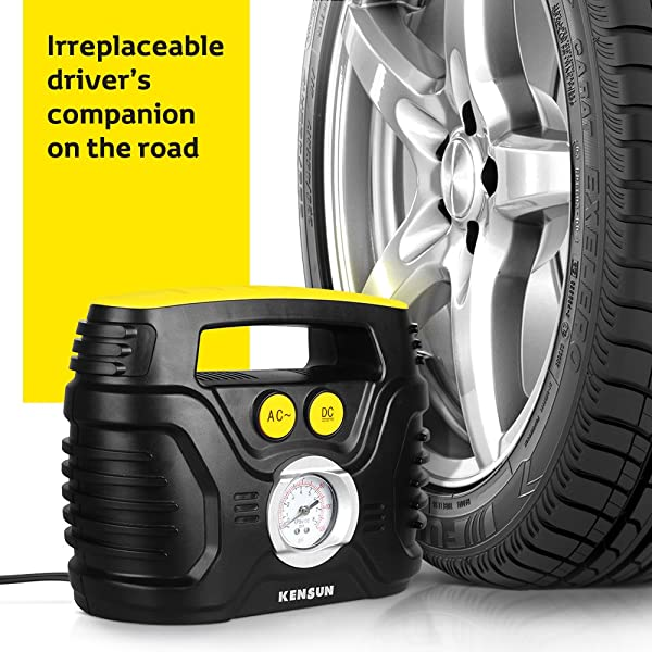 Kensun AC/DC is one of the best tire inflator on the market