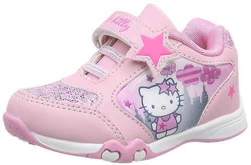 9eee4e56 Hello Kitty HK Bacaroy - Zapatilla Deportiva de Material sintético niña,  Color Rosa, Talla 32: Amazon.es: Zapatos y complementos