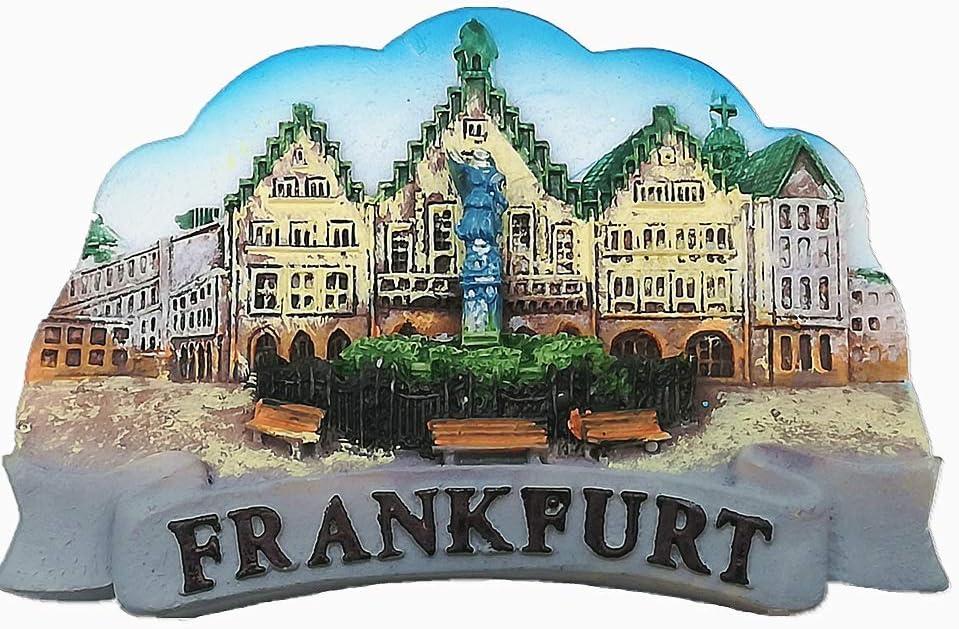 Frankfurt Germany 3D Fridge Magnet Tourist Souvenir Gift & Collection Home & Kitchen Decoration Magnetic Sticker Frankfurt Germany Refrigerator Magnet