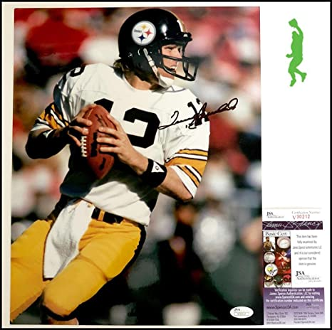 8a30d74f4fe Image Unavailable. Image not available for. Color  Signed Terry Bradshaw ...