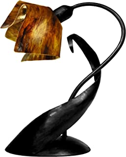 product image for Jezebel Signature TLLD-B-FP12-EAR Flame Style Black Lazy Daisy Lamp, Earth