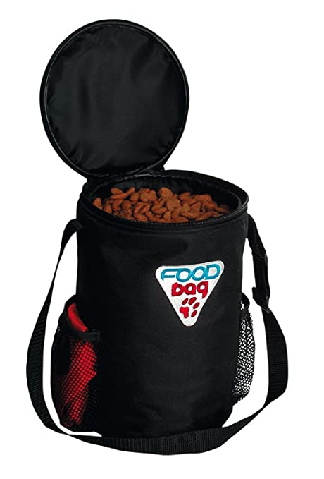 Amazon.com: Trixie Set de viaje bolsa y Pet Food Bowl: Mascotas