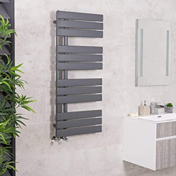Sèche-serviettes radiateur plat design eau chaude 598 Watts 1124 x ...