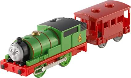 Thomas Friends Motorized Engine Set Toy 6 in 1Track Master Percy Fisher Price