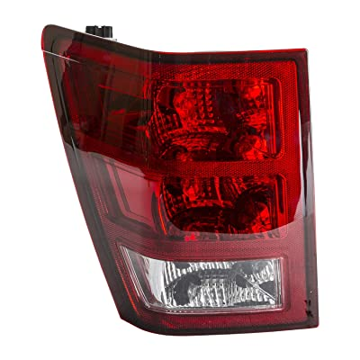 TYC 11-6078-00-1 Compatible with JEEP Grand Cherokee Left Replacement Tail Lamp: Automotive
