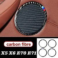 GLEETIEZ Car Audio Altavoz de Fibra de Carbono