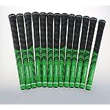 13 grips de club de golf Crestgolf, en caoutchouc et carbone - 3 couleurs