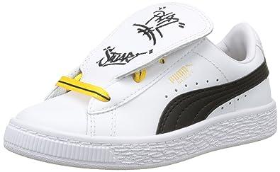 Mixte Enfant Tongue Puma Sneakers Amazon Minions Basses Ps Basket xf0wTgq6Y