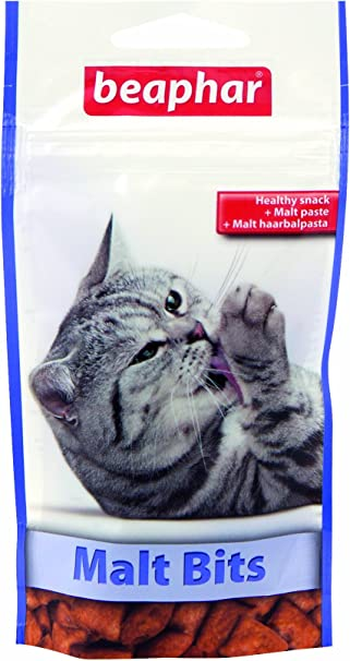 Beaphar - Snack para Gatos bocaditos de Malta 35 gr: Amazon.es: Productos para mascotas