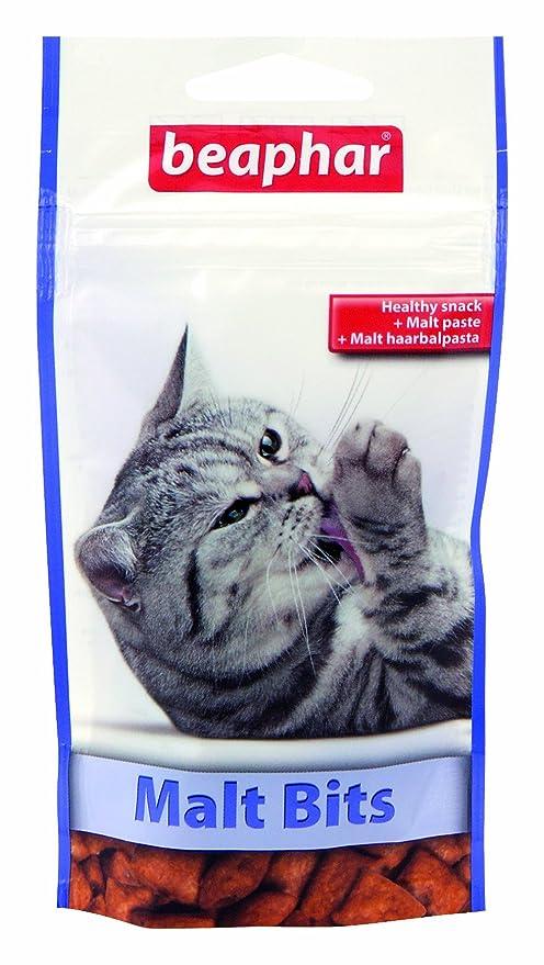 Beaphar Snack para Gatos bocaditos de Malta 35 gr