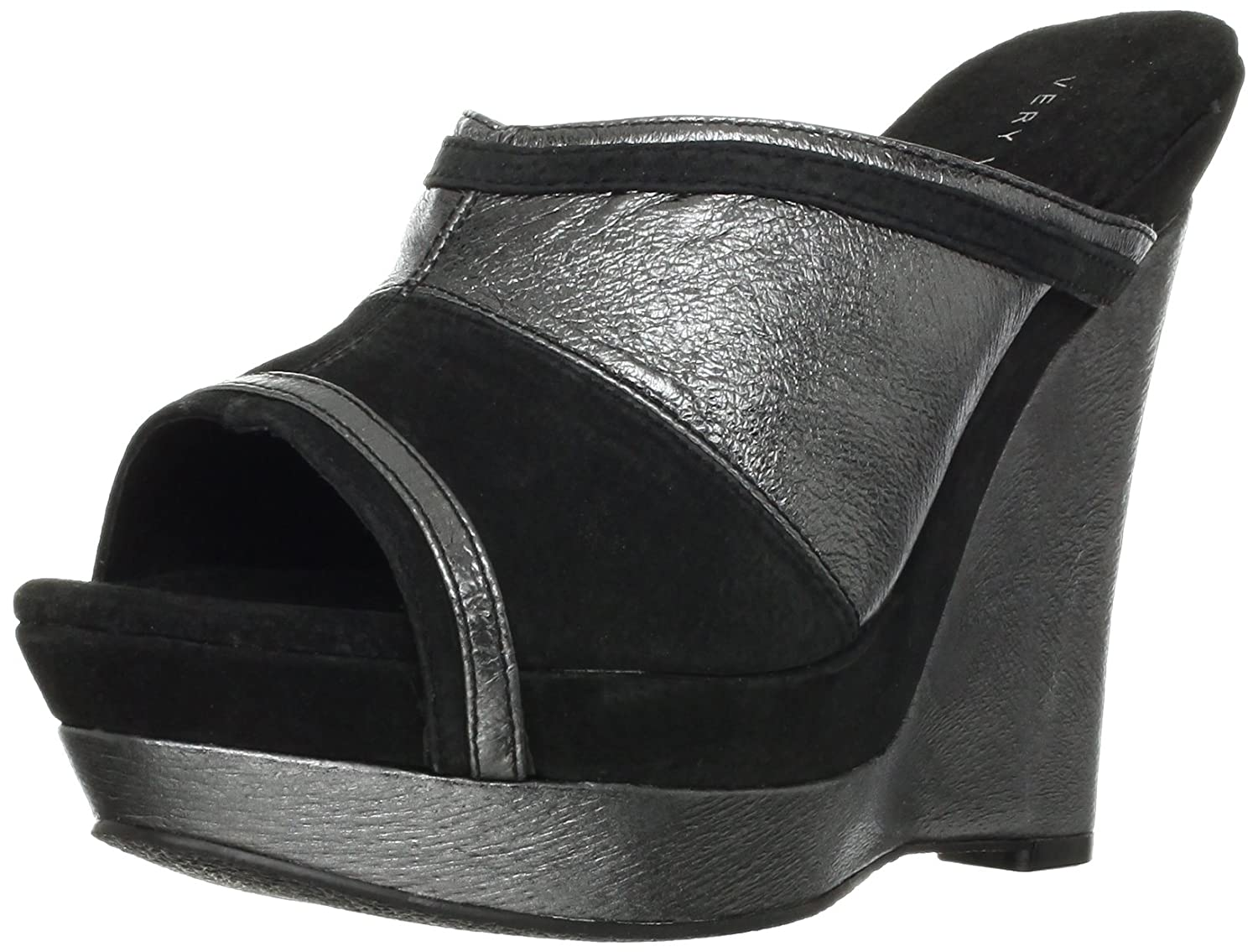 Very Volatile Women's Supercharge Wedge Sandal B009YDRAU2 8 B(M) US|Black