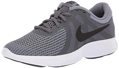 online store 0bc18 0013d Nike Revolution 4 (GS), Chaussures de Running Homme, Gris (Dark Black