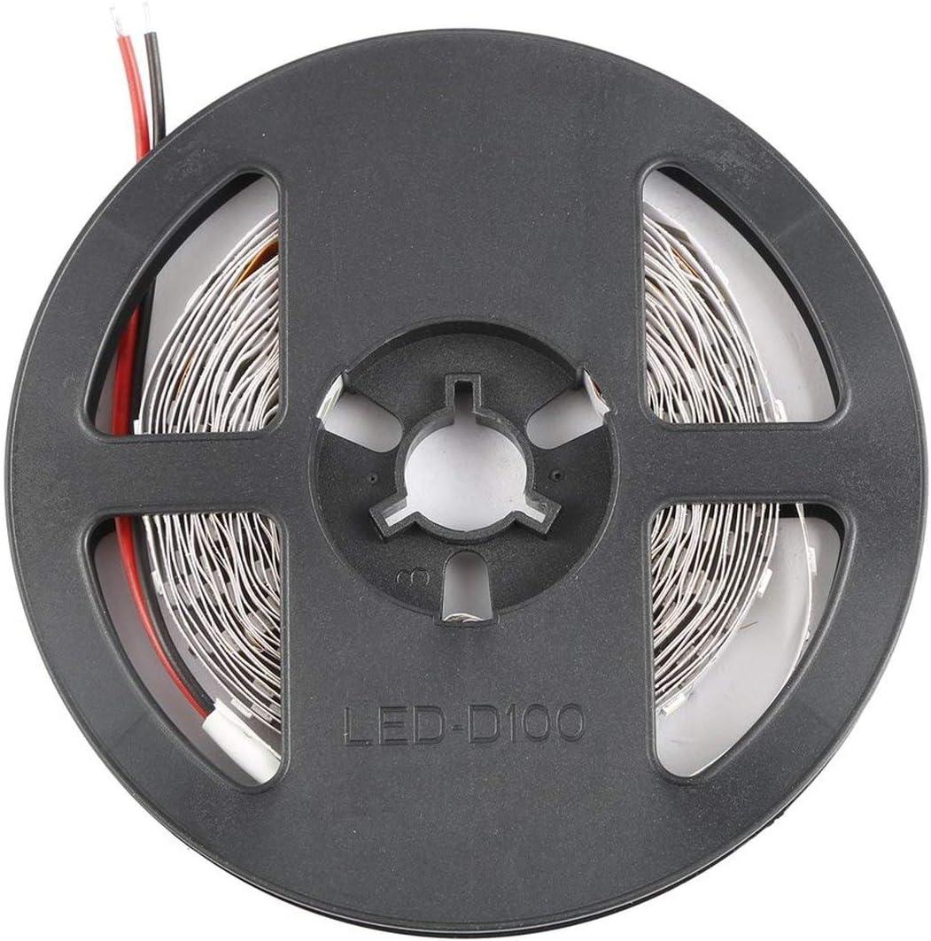 Multi-use Light Strip Cuttable Decoration Light 5M 16ft 3528 SMD Non-Waterproof 300 LEDs Flexible Light LED Sticky Strip DC12V