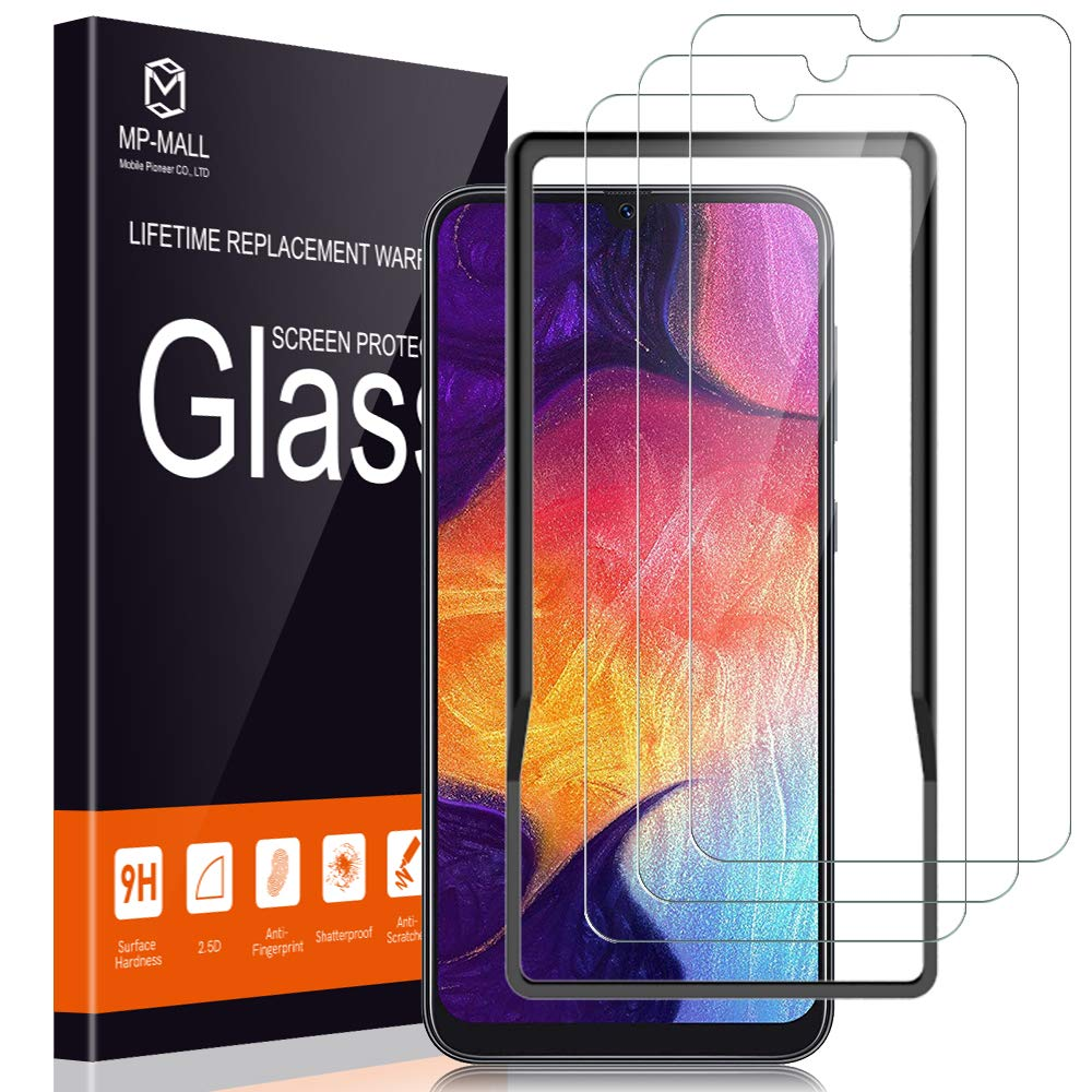 Vidrio Templado Samsung A50 [3un.] MP-MALL