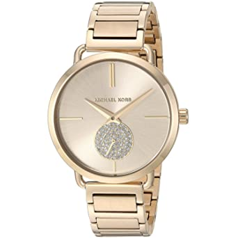 Michael Michael Kors - Michael korsportia - reloj - gold-coloured: Amazon.es: Relojes
