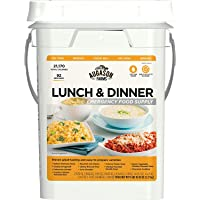 Augason Farms Lunch & Dinner Emergency Food Supply 11 lbs 11.2 oz 4 Gallon Pail