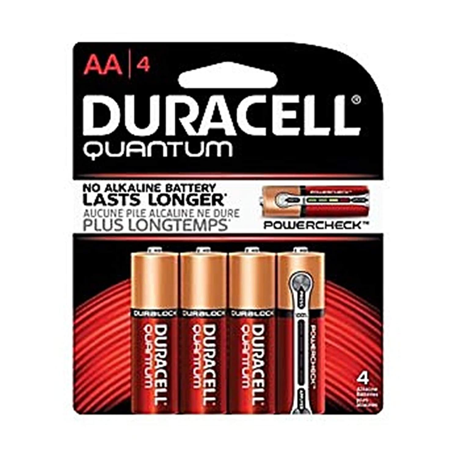 Image of Duracell PGD QU2400B4Z10 Quantum Battery, Alkaline, AAA Size (Pack of 216) AAA