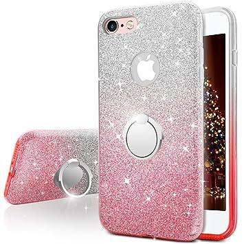 791e0494224 Miss Arts Funda iPhone 6S Plus, Funda iPhone 6 Plus, Carcasa Brillante  Brillo con Soporte, ...