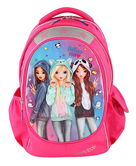 Tuc Tuc Amigas Mochila Color Rosa Top Model 10160_A A
