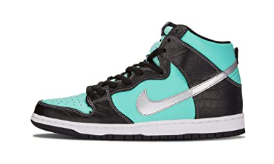"55dec07935 Nike Dunk High PRM SB ""Diamond"" 653599 400 Aqua/ ..."