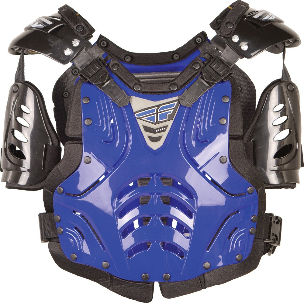Fly Racing Polisport Fly Racing Convertible II Protective Junior Gear , Size Segment: Youth, Distinct Name: Blue, Size Modifier: 80-150lbs, Primary Color: Blue, Size: OSFM, Gender: Boys