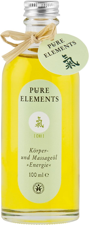 Pure Elements Natural cosmético Chi de cuerpo y aceite Energía 100ml
