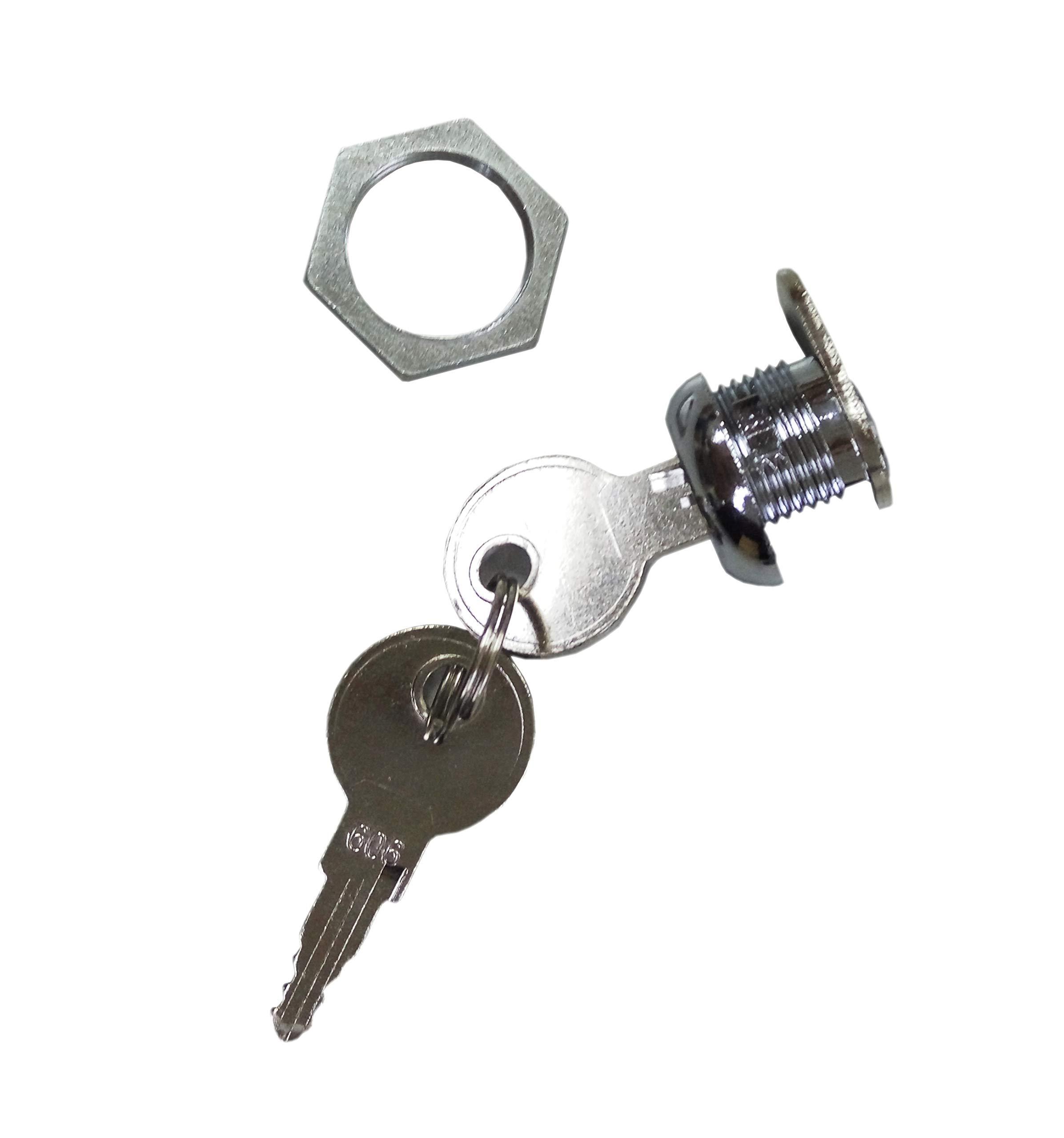 FixtureDisplays Cam Lock for Cellphone Locker Suggestion Fundraising Donation Box 18235 by FixtureDisplays