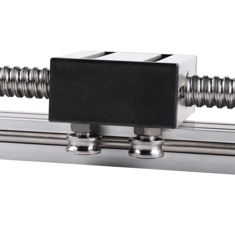 1EBA Silver CNC Parts Linear Motion Ball Bearing Sturdy Shaft Guide Rail