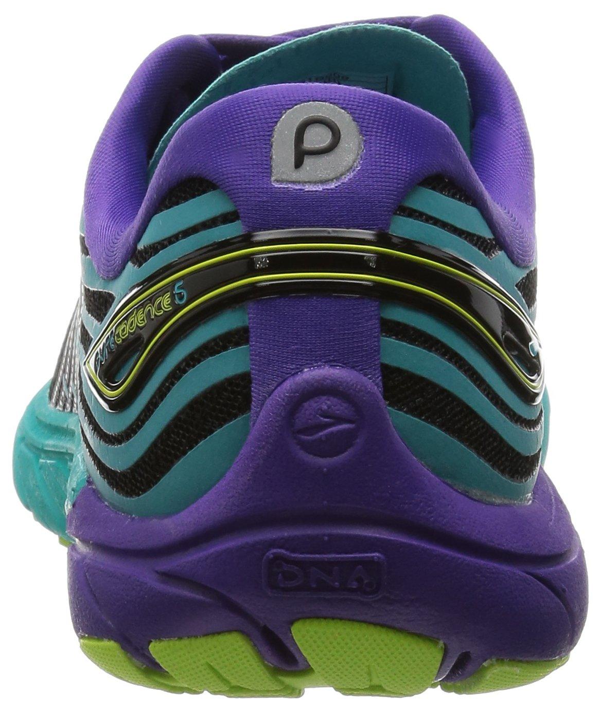 Brooks Womens PureCadence 5 B00YDN4LDC 5.5 B(M) US|Black/Ceramic/Prism Violet