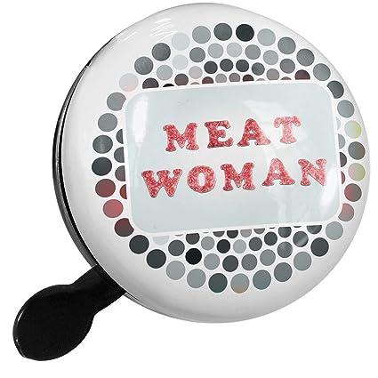 Amazon.com : NEONBLOND Bike Bell Meat Woman Salami Meat ...