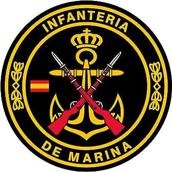 Resina 16x11 mm//ud. Artimagen Pegatina rect/ángulos Infanter/ía de Marina 9 uds
