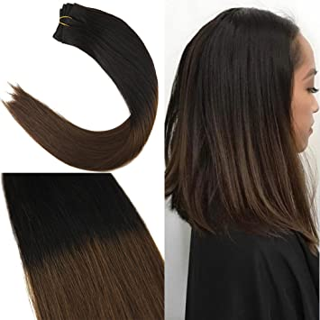 Amazon Com Youngsee 18 1 Bundle Ombre Hair Bundles Human Hair
