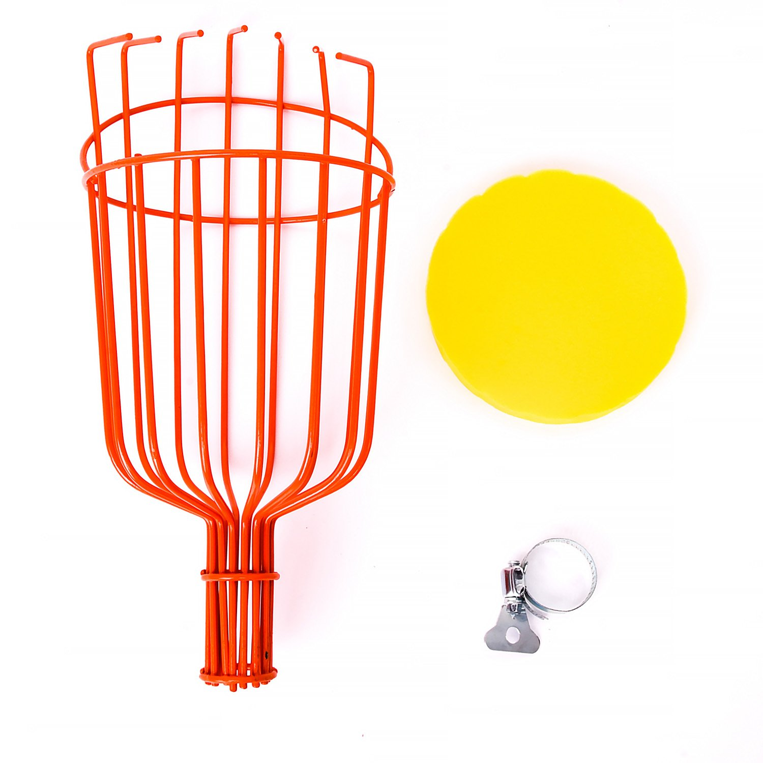Professional Metal Catcher Basket Fruit Picker Tool F2C Fruit Picking Equipment for Getting Fruits Extra Lightweight Ideal for Picking Oranges Apple Avocado or any Kinds of Fruits