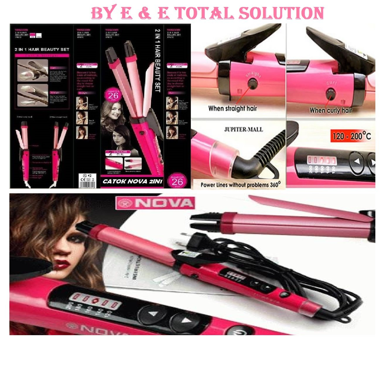 Nova 2 In 1 Hair Beauty Set Nhc 1818sc Health Personal Catokan 3in1 8890 Care