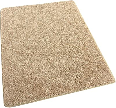 Amazon Com 9 X12 Beige Area Rug Frieze Plush Textured