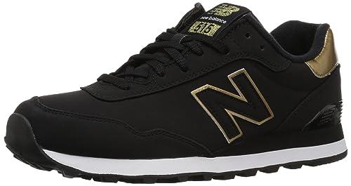 new balance 515 negras con dorado