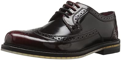 Ted Baker Men's Ttanum 3 Lhs Am Dk Red Oxford, Dark Red, ...