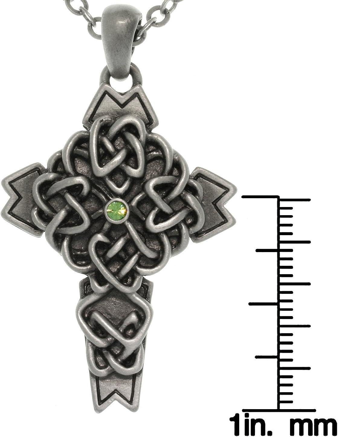 rini/_mc2 1 Pc Celtic Cross CZ 14K Gold Plated Surgical Steel Helix Tragus Cartilage Bar Stud